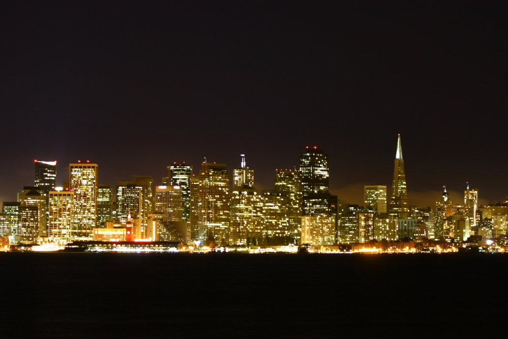 SF Night Cityscape